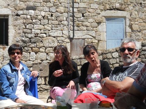 Marie-France, Fabienne, Catherine et Jean